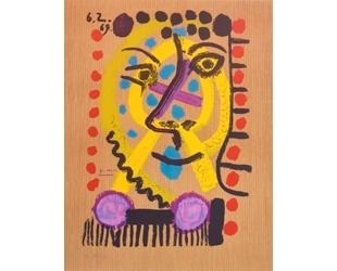 「你的繪畫、我的作品」─談畢卡索與薩林納的《想像中的人物肖像》